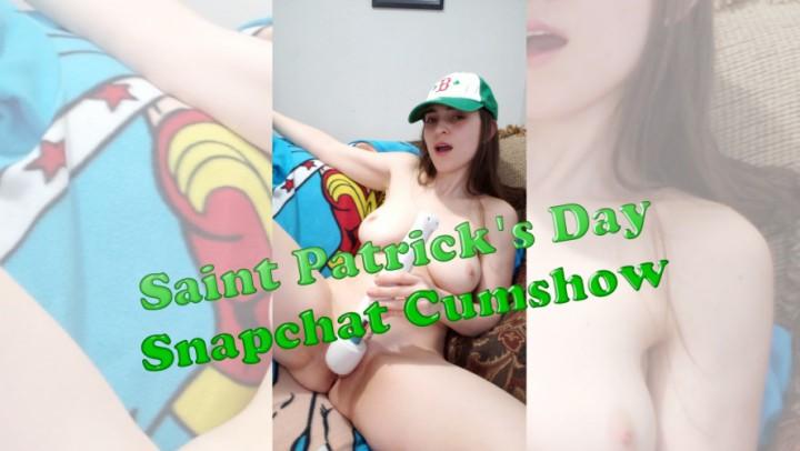 [WQHD] Naughtnatalie Saint Patricks Day Snapchat Cumshow NaughtNatalie - ManyVids-00:12:09 | Big Boobs, Fingering, Hitachi, Glass Dildos, Orgasms - 1,5 GB