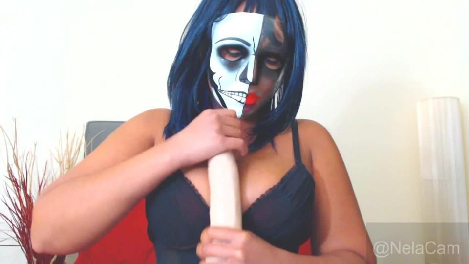 [HD] Nelacam Joi Mime Style NelaCam - ManyVids-00:07:14 | Big Tits, Black &Amp;Amp; Ebony, JOI, Mask Fetish, Halloween - 270,6 MB