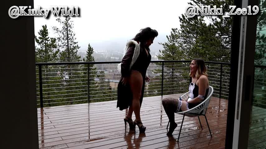 [HD] Nikki Zee Naughty Maid Caught On Smoke Break Nikki_Zee - ManyVids-00:09:07 | Maid Training, Mistress, Pussy Slapping, Role Play, Spanking F/F - 179,8 MB