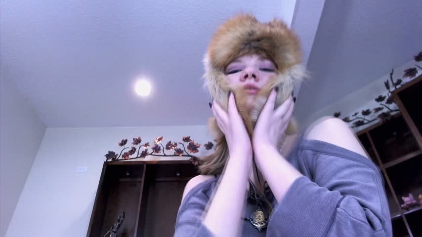 [Full HD] nym fleurette queen nyx i love real furs Nym Fleurette - ManyVids-00:05:00 | 18 & 19 Yrs Old, Furs, Hat Fetish, Financial Domination, Femdom - 298 MB