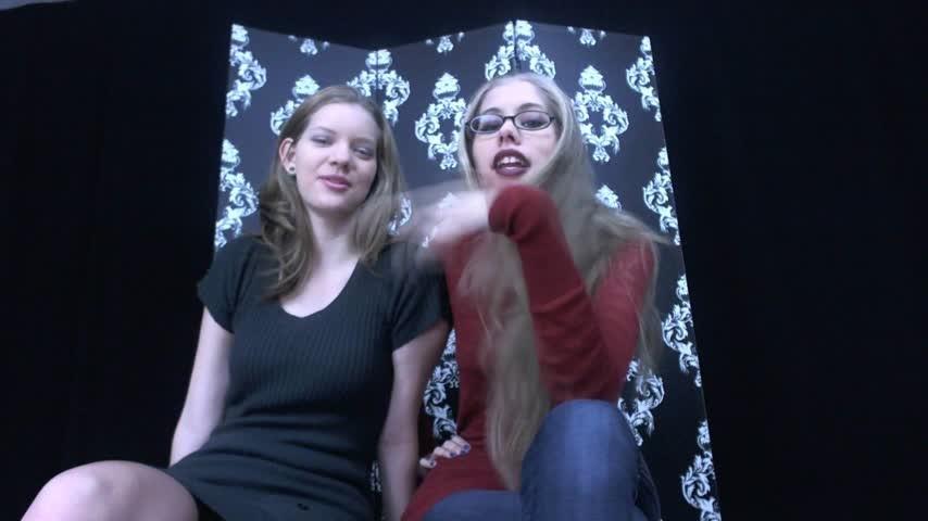 [Full HD] Nym Fleurette Queen Nyx Sadistic Sisters Expose You Nym Fleurette - ManyVids-00:05:42 | Double Domination, Female Domination, Financial Domination, Femdom, Femdom POV - 342,9 MB