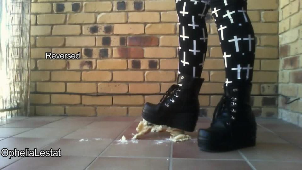 Ophelialestat Goth Boot Cupcake Crush