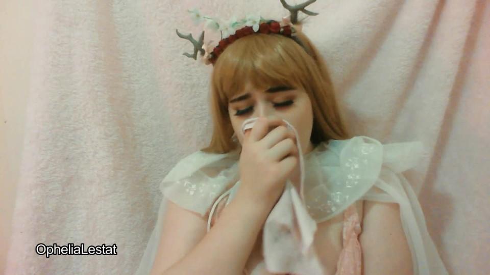 Ophelialestat Little Nymph Sneezing