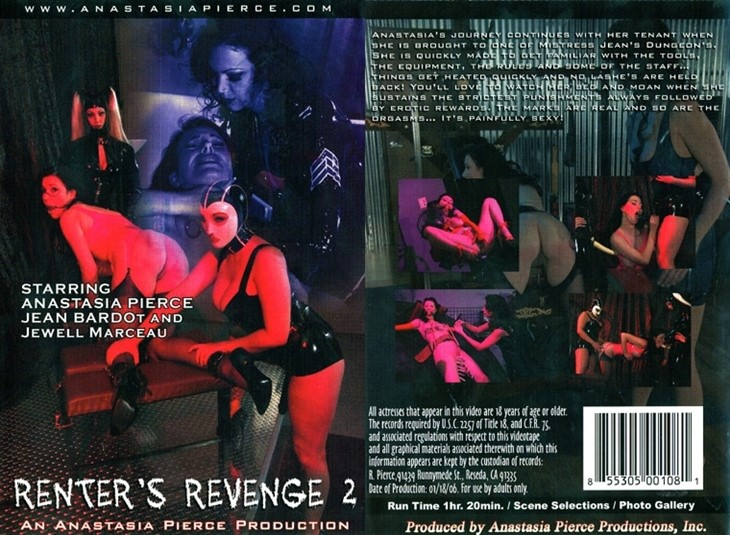 [LQ] Renters Revenge 2 Jewell Marceau, Anastasia Pierce, Jean Bardot - Anastasia Pierce Production-01:19:09   Femdom, Rubber, Spanking, Fetish, All Girl, BDSM - 743,6 MB