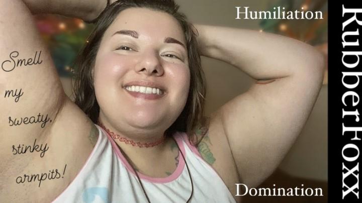 [Full HD] Rubberfoxx Smell My Armpits Femdom Humiliation Rubberfoxx - ManyVids-00:03:08 | BBW BDSM,Female Domination,Humiliation,Femdom,BBW,SFW - 231,2 MB