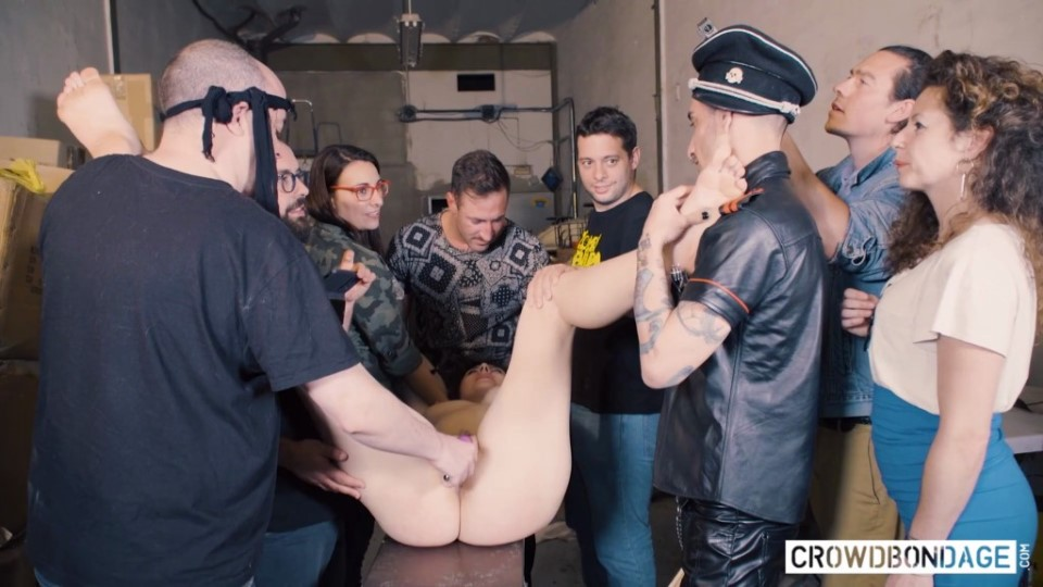 [Full HD] Sofia Curly BEAUTY AND THE BONDAGE BEAST Sofia Curly - SiteRip-00:53:00   Big Natural Tits, Doggy Style, Slave Girl, Domination, BDSM, Cum In Mouth, Humiliation, Group Sex, Tied, Obedient, Vibrator, Crowd Bondage - 2,3 GB