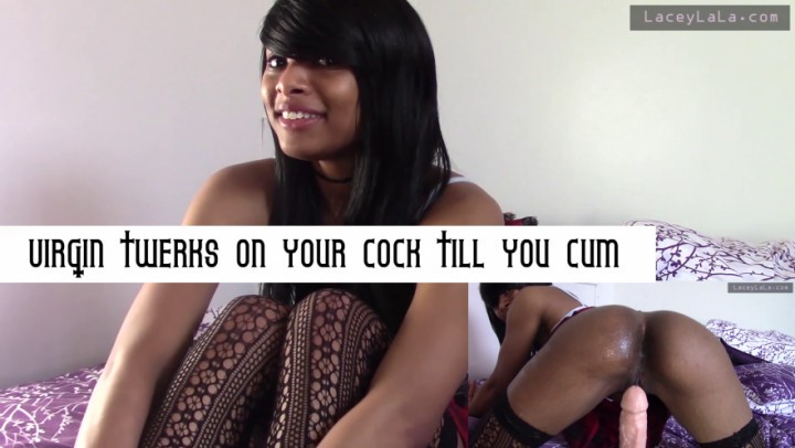 [Full HD] Ulaceylala Virgin Twerks On Your Cock Till You Cum ULaceyLaLa - ManyVids-00:08:19 | Twerk, Ass Shaking, Ebony, Asscheek Fucking, School Girl - 896,9 MB