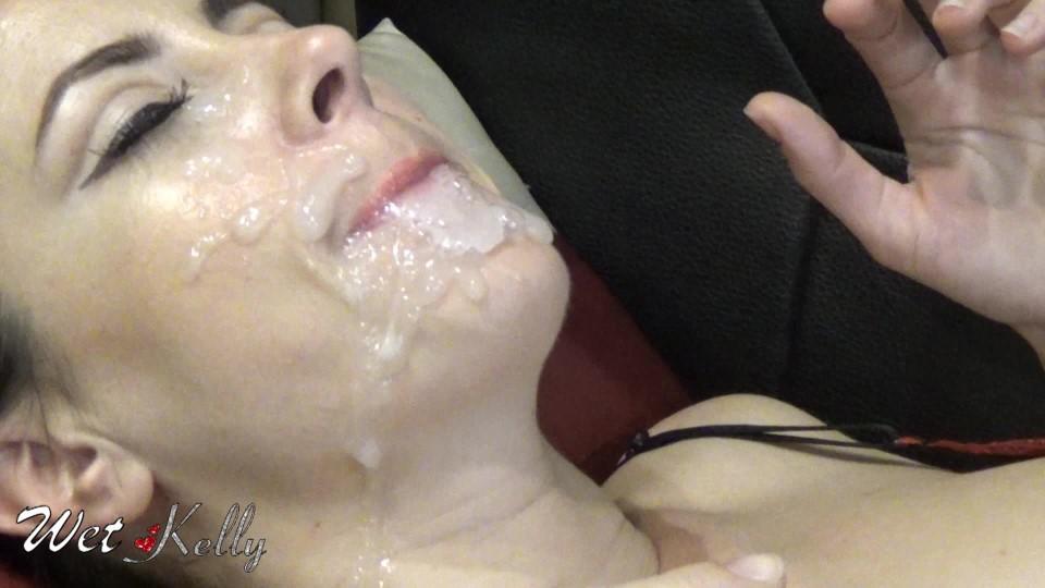 [Full HD] Wet Kelly Blowjob Bukkake Dream Wet Kelly - ManyVids-00:05:38 | Blowjob, Bukkake, Cumshots, Mask Fetish, Cum Play - 329,1 MB