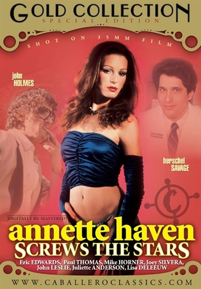 [SD] Annette Haven Screws The Stars Vip-Pussy.Com Annette Haven, Eric Edwards, Herschel Savage, Joey Silvera, John Holmes, John Leslie, Mike Horner, Paul Thomas - Caballero Video-01:30:43   Feature, Compilation, Classic - 691,7 MB