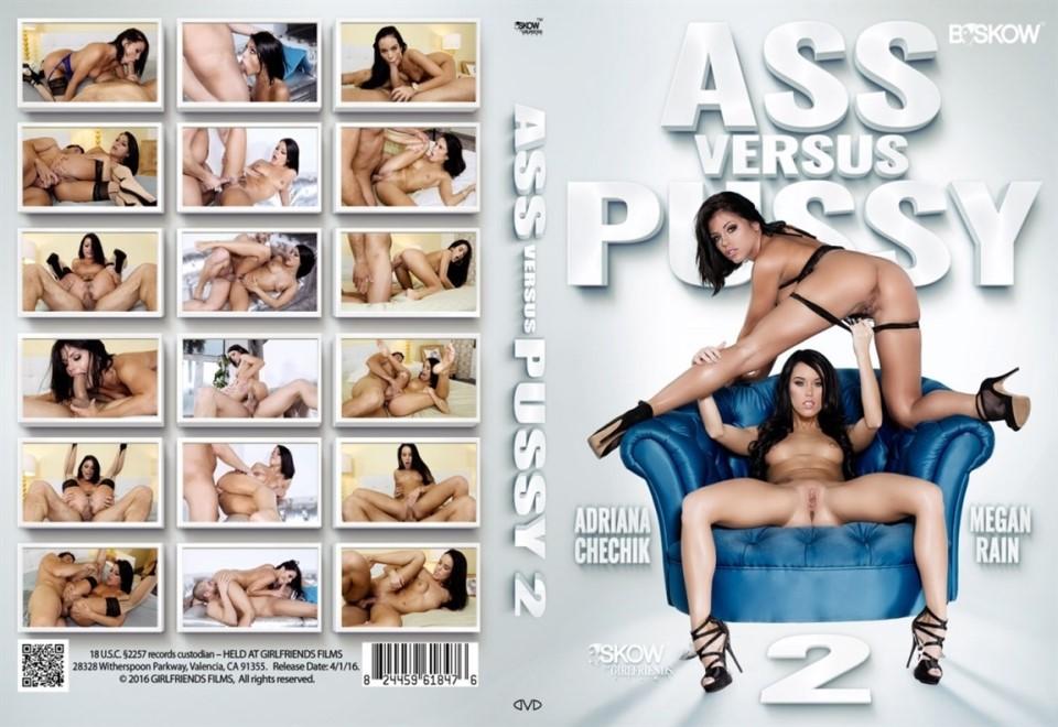 [LQ] Ass Vs Pussy 2 Megan Rain, Adriana Chechik - By Skow-01:49:29 | Gonzo, Anal - 1016,5 MB