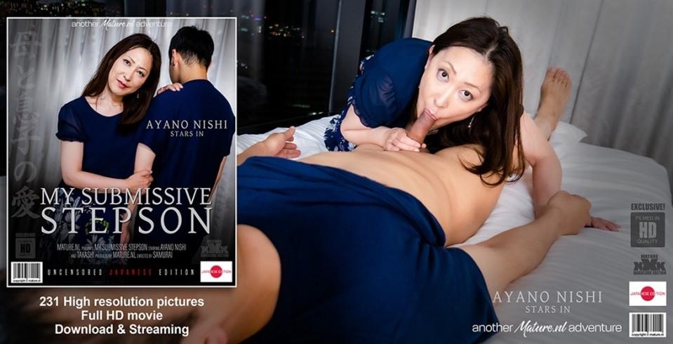 [Full HD] Ayano Nishi Japanese MILF Fucking Her Submissive Stepson Ayano Nishi - SiteRip-00:56:06 | Toys, Creampie, MILF, Cum, Big Natural Tits, Brunette, Blowjob, Japanese - 2,5 GB