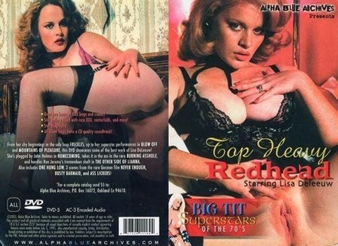 [SD] Big Tit Superstars Of The 70S Top Heavy Redhead Vip-Pussy.Com Lisa DeLeeuw, John Holmes, Ron Jeremy - Alpha Blue Archives-02:01:49   Classic, Compilation - 1,1 GB