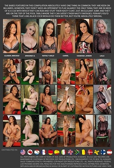 [SD] Billiard Babes 2 Mix - DDF Productions-01:45:43   All Girl, Blondes, Big Boobs, Brunettes, Stockings, Masturbation, Lingerie, Solo, Sex Toy Play, High Heels, Gonzo - 2,1 GB
