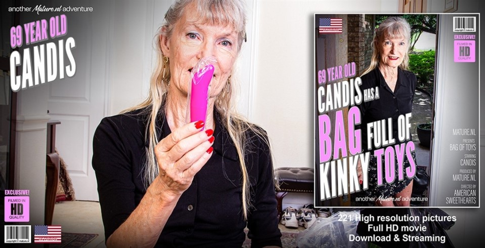 [Full HD] Candis 69 Year Old Candis Has A Bag Full Of Kinky Toys Candis (69) - SiteRip-00:39:16   Toys, Masturbation, Solo - 2,2 GB