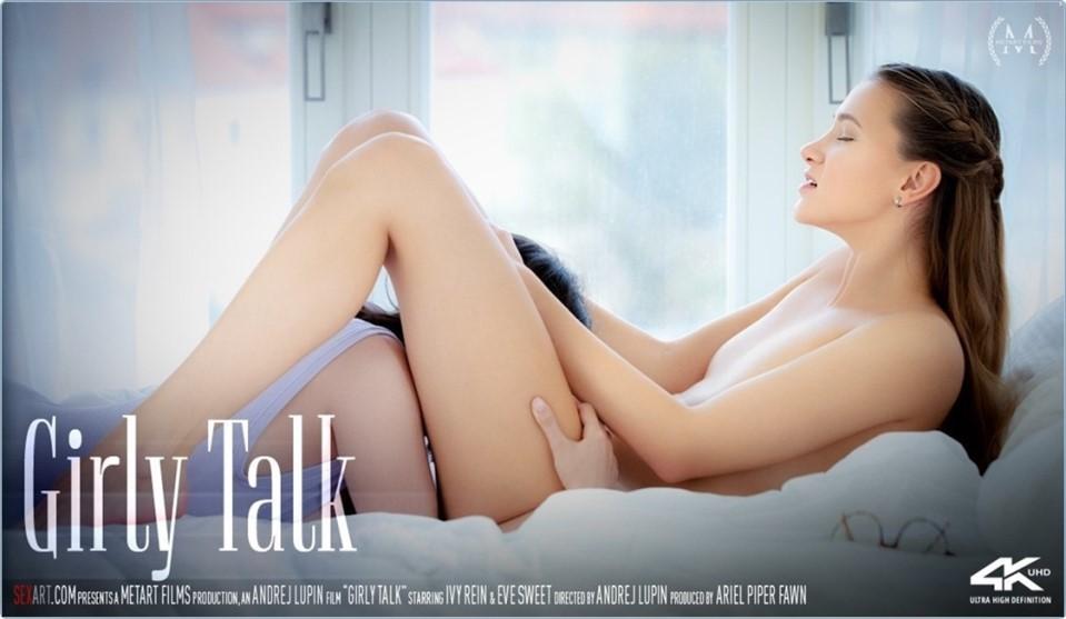 [4K Ultra HD] Eve Sweet &Amp; Ivy Rein Girly Talk Eve Sweet &Amp; Ivy Rein - SiteRip-00:24:53 | Indoors, Barefoot, Tattoo, Lesbian, Bedroom, Glasses, Breasts, Brunette, Panties, Fingering - 7 GB