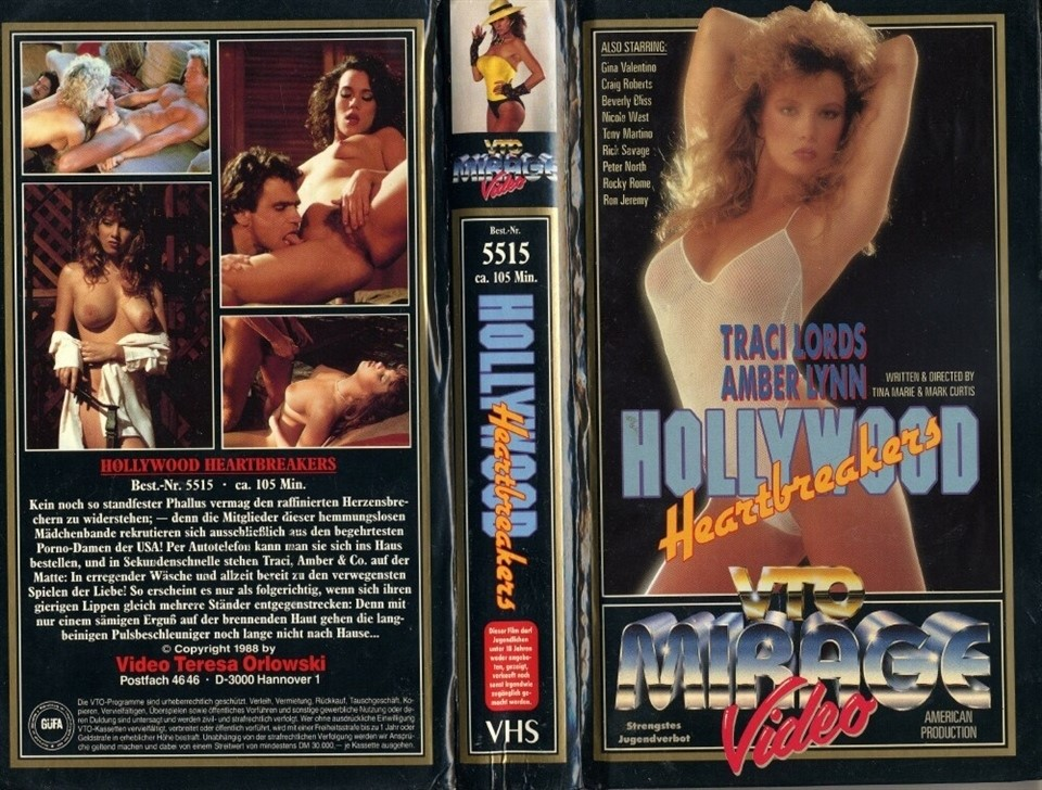 [SD] Hollywood Heartbreakers Amber Lynn, Beverly Bliss, Gina Valentino, Nicole West, Traci Lords - Leisure Time Entertainment-01:27:51 | Classic, AllSex - 700,4 MB