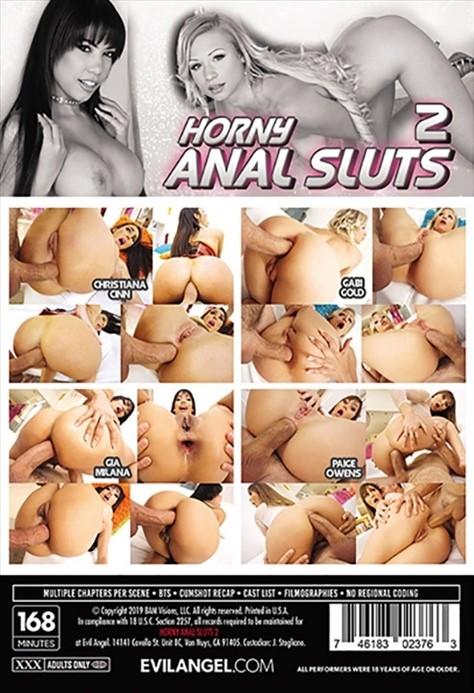 [LQ] Horny Anal Sluts 2 Paige Owens, Mick Blue, Gia Milana, Christiana Cinn - Evil Angel-02:47:50   Gonzo, Hardcore, Anal - 1,9 GB