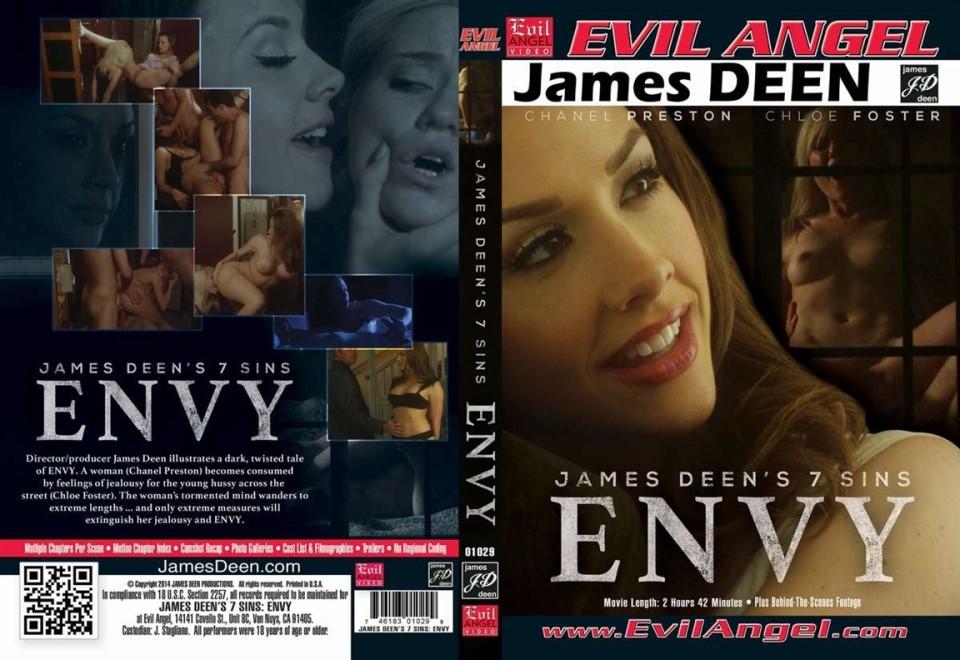 [LQ] James Deens 7 Sins Envy Chanel Preston, Chloe Foster, Dane Cross, James Deen, Tommy Pistol. - Evil Angel-02:42:10 | Feature - 1 GB