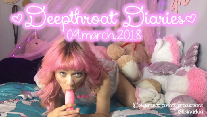 [HD] Kiki Cali Deepthroat Diaries Day One Kiki Cali - ManyVids-00:08:18   Age Play, Blowjob, Daddys Girl, POV, Teens - 718,3 MB
