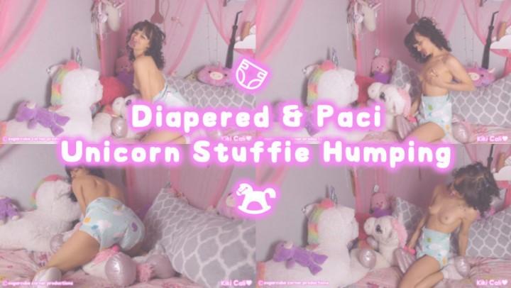 [HD] Kiki Cali Diapered Amp Paci Unicorn Stuffie Humping Kiki Cali - ManyVids-00:06:05   Adult Babies, Age Play, Diaper, Diaper Fetish, Pillow Humping - 513,7 MB
