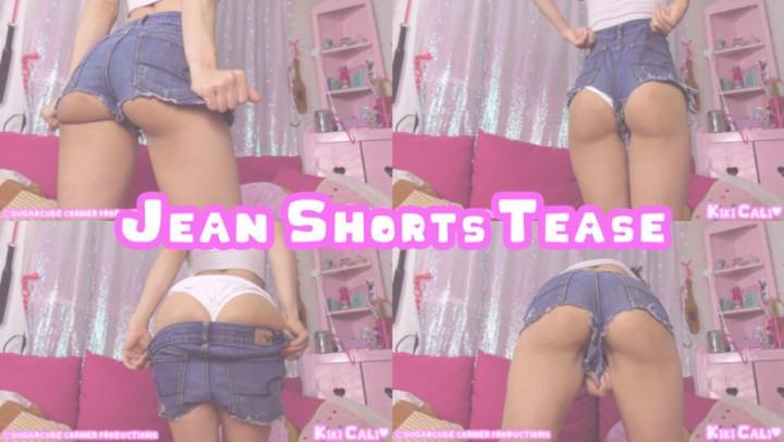 [HD] Kiki Cali Jean Shorts Tease Kiki Cali - ManyVids-00:07:15 | Jeans Fetish, Ass Worship, Age Play, Daddys Girl, Ass Fetish - 631,8 MB