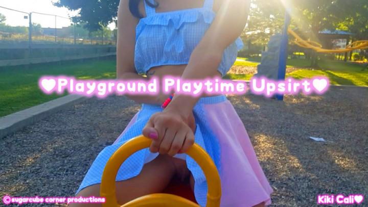 [HD] Kiki Cali Playground Playtime Upskirt Freebie Kiki Cali - ManyVids-00:03:48 | Taboo, Age Play, Age Regression, Daddys Girl, Upskirt - 327 MB