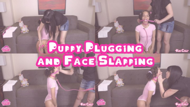 [Full HD] Kiki Cali Puppy Plugging And Face Slapping Kiki Cali - ManyVids-00:04:15 | Butt Plug, Face Slapping, Female Domination, Mommy Roleplay, Pet Play - 234,5 MB