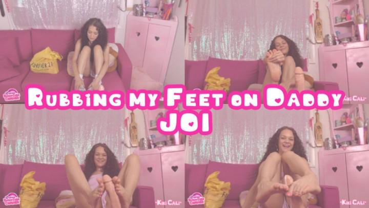 [Full HD] Kiki Cali Rubbing My Feet On Daddy Joi Kiki Cali - ManyVids-00:12:52   Age Play, Daddy Roleplay, Daddys Girl, Feet JOI, Footjobs - 708,3 MB