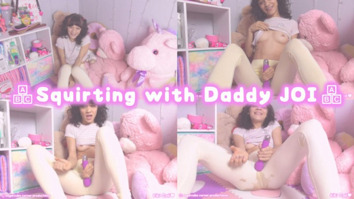 [HD] Kiki Cali Squirting With Daddy Joi Kiki Cali - ManyVids-00:08:26 | Age Play, Daddys Girl, JOI, Squirting, Leggings - 734,7 MB