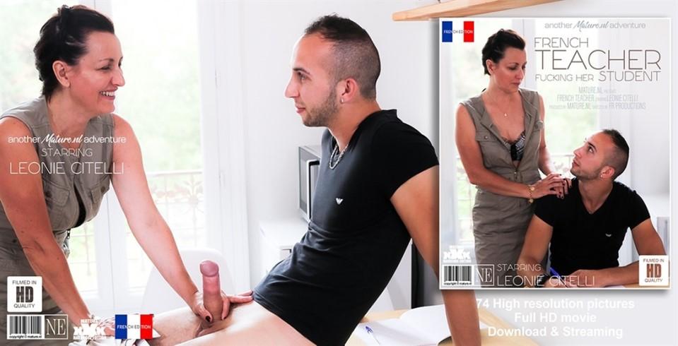 Leonie Citelli French Teacher Fucking Her Student