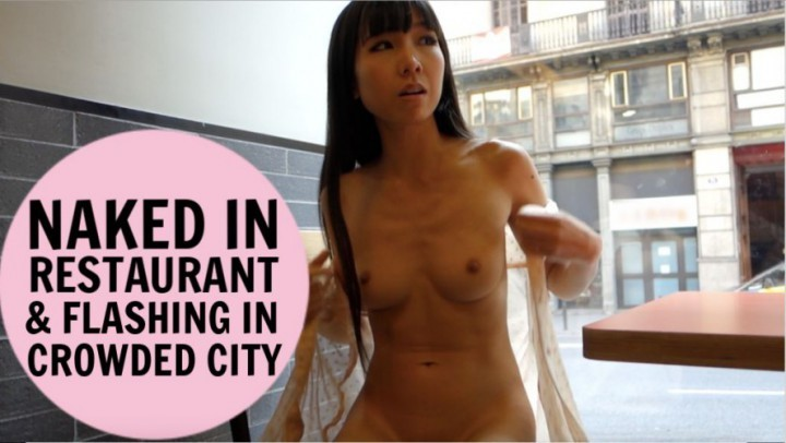 [Full HD] Littlesubgirl Naked In Restaurant Amp Flash Crowded City Littlesubgirl - ManyVids-00:08:40 | Public Flashing, Public Nudity, Public Outdoor, Squirting, Wet &Amp;Amp; Messy - 739,8 MB