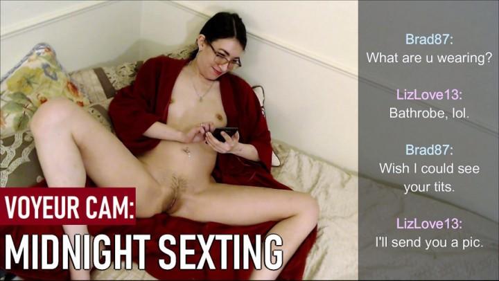 [Full HD] Liz Lovejoy Midnight Sexting Voyeur Liz Lovejoy - ManyVids-00:08:56 | Asian, Dirty Talking, Phone Sex, Voyeur, Voyeur Cams - 658,6 MB