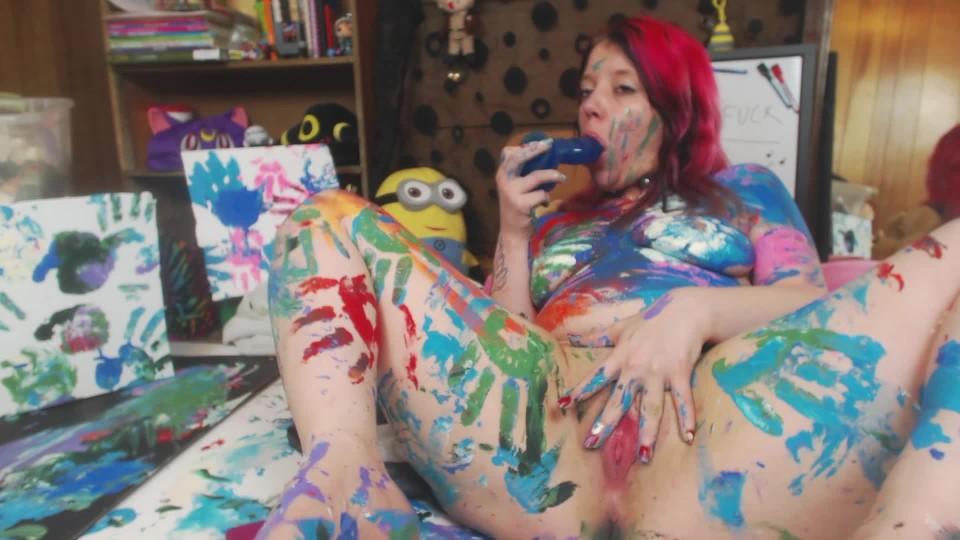 [Full HD] Lulubennie Creamy Artistic Bliss LuluBunnie - ManyVids-00:16:12   Body Painting, Dildo Fucking, Sploshing, Squirt, Wet &Amp;Amp; Messy - 1,4 GB