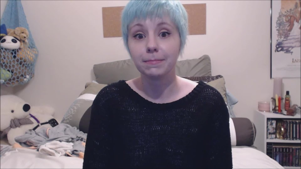 [Full HD] Lydia Sweets Blue Hair Lydia Sweets - ManyVids-00:10:26 | Solo Female,Solo Masturbation,Short Hair,Orgasms,Silly Faces - 560,4 MB