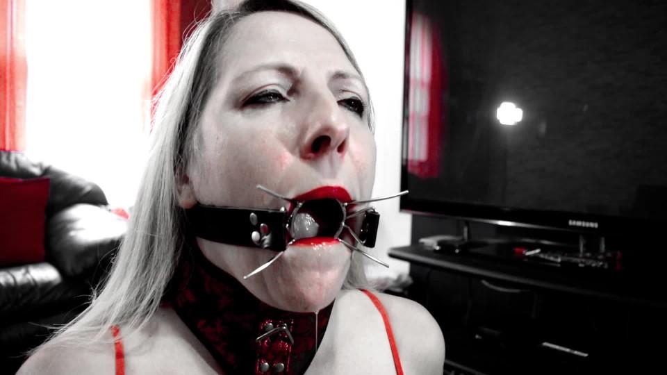 [Full HD] Marie Madison Spider Gag Training Marie Madison - ManyVids-00:08:53   Submissive Sluts, Spit Fetish, Swallowing / Drooling, Slut Training, Ballgagged - 736,2 MB