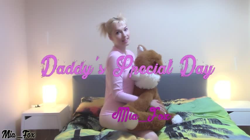 [Full HD] Mia Fox Daddys Special Day Mia_Fox - ManyVids-00:16:57 | Daddy Roleplay, Daddys Girl, Age Play, Taboo, Cumshots - 581,7 MB