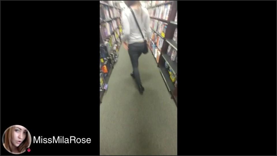 [HD] Missmilarose Voyeur Mall Ass Crack MissMilaRose - Manyvids-00:14:28 | Size - 736,8 MB
