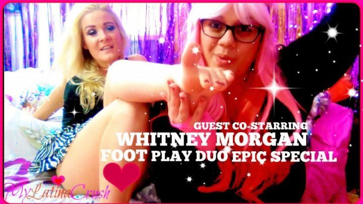 [HD] mylatinacrush 2in1 foot play w whitney morgan special MyLatinaCrush - ManyVids-00:09:32 | BBW Feet, Dirty Feet, Feet Fight, Foot Fetish, Foot Play - 1 GB