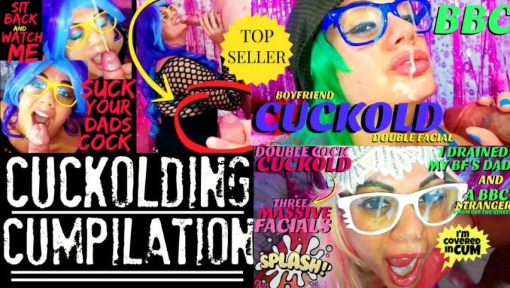 [HD] Mylatinacrush The Cumplete Cockolding Cumpilation MyLatinaCrush - ManyVids-00:28:50 | Cuckolding, Blowjob, Cum Play, Facials, BBC - 3,2 GB