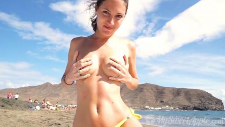 [Full HD] Mysweetapple Nudist Beach Festival Fuerteventura MySweetApple - ManyVids-00:48:58 | 69, Cowgirl, Cum Swallowers, POV, Public Nudity - 1,8 GB