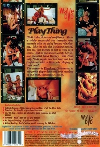 [SD] Play Thing Plaything. Ernest Greene, Vivid Actresses[Facial][Facial]Patricia Kennedy [Anal Facial DP]ActorsChristopher SharpJoey SilveraMarc WalliceTom ByronTony Tedeschi - Vivid / Wave Video-01:17:55 | Feature, DP, Straight, Couples, Anal - 1,3 GB