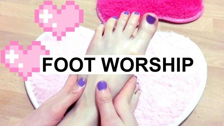 [HD] Poppy Foot Fetish Worship Pedicure Hd Poppy - ManyVids-00:19:58 | Feet, Foot Fetish, Foot Play, Foot Worship, Teens - 1,7 GB