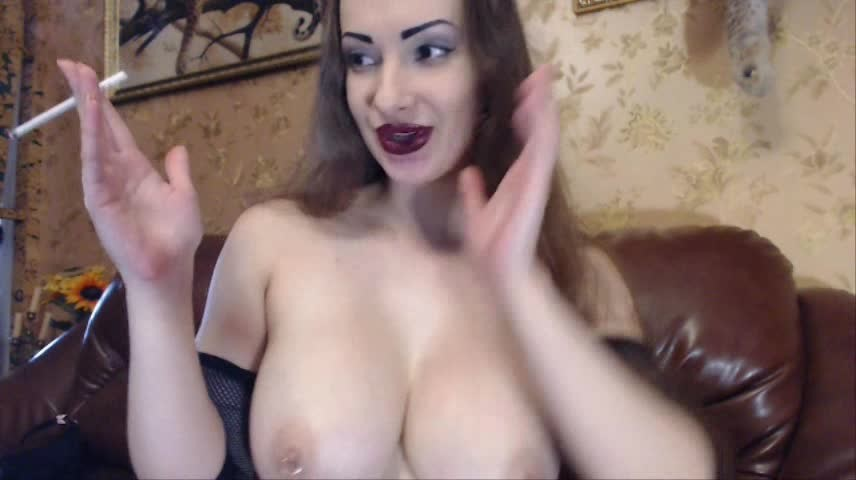 [SD] Princess18 Webcam Smoke Show Princess18 - ManyVids-00:10:13 | Big Tits, Dildo Sucking, Smoking, Tit Play, Webcam - 151,5 MB