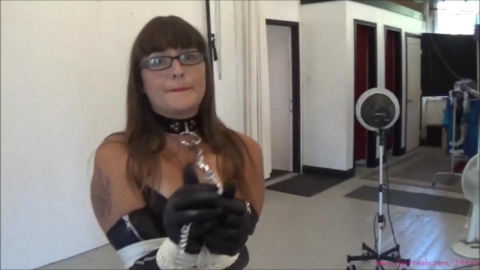 [HD] Sarah Michelle The Domination Agency Pt1 Sarah Michelle - ManyVids-00:08:46 | POV,Bondage,Domination,Slave Training,Ballgagged - 621,6 MB