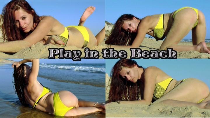 [Full HD] Spaingirl Play In The Beach Spaingirl - ManyVids-00:05:37 | Bikini, Voyeur, Voyeur Beach, Ass, Ass Worship - 877,3 MB