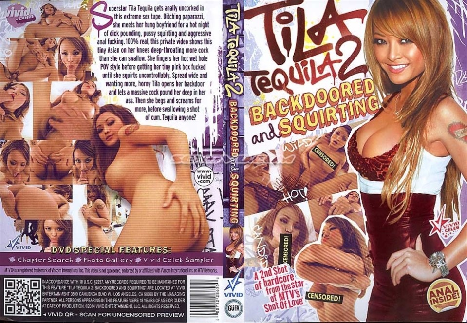 [LQ] Tila Tequila 2 Backdoored And Squirt Tila Tequila. - Vivid Video-01:23:33   Squirting, POV, Gonzo, Anal, Celebrity - 900 MB