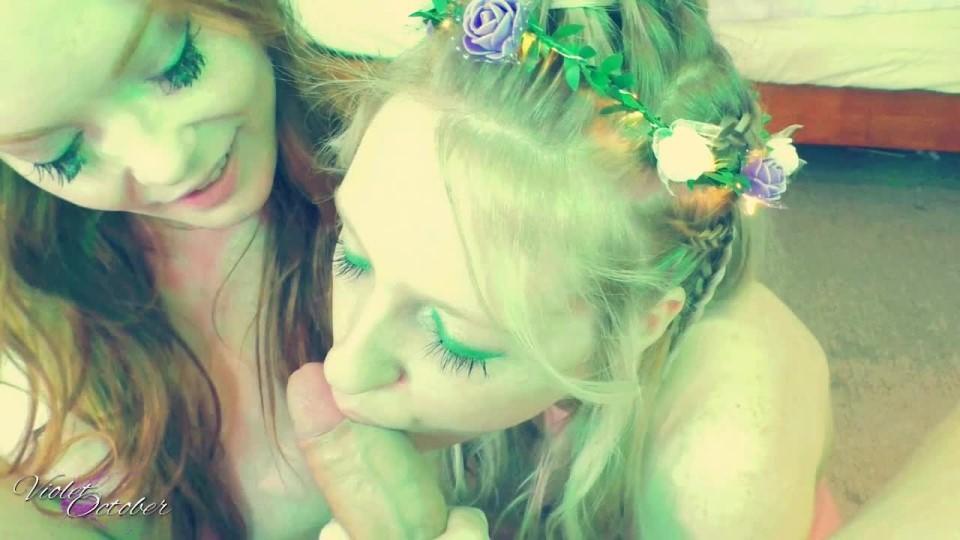[HD] Violetoctober Green Fairies Pov Blowjob VioletOctober - ManyVids-00:12:29   Blow Jobs, Boy Girl Girl, Facials, Fairy Tales, POV - 921,2 MB
