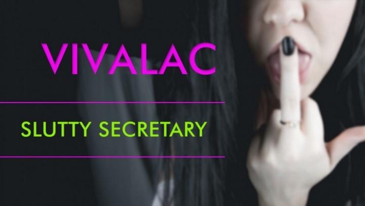 [SD] Vivalac Slutty Secretary Vivalac - ManyVids-00:16:22 | Amateur, Blow Jobs, Cum In Mouth, Facials, Home Video - 624,8 MB