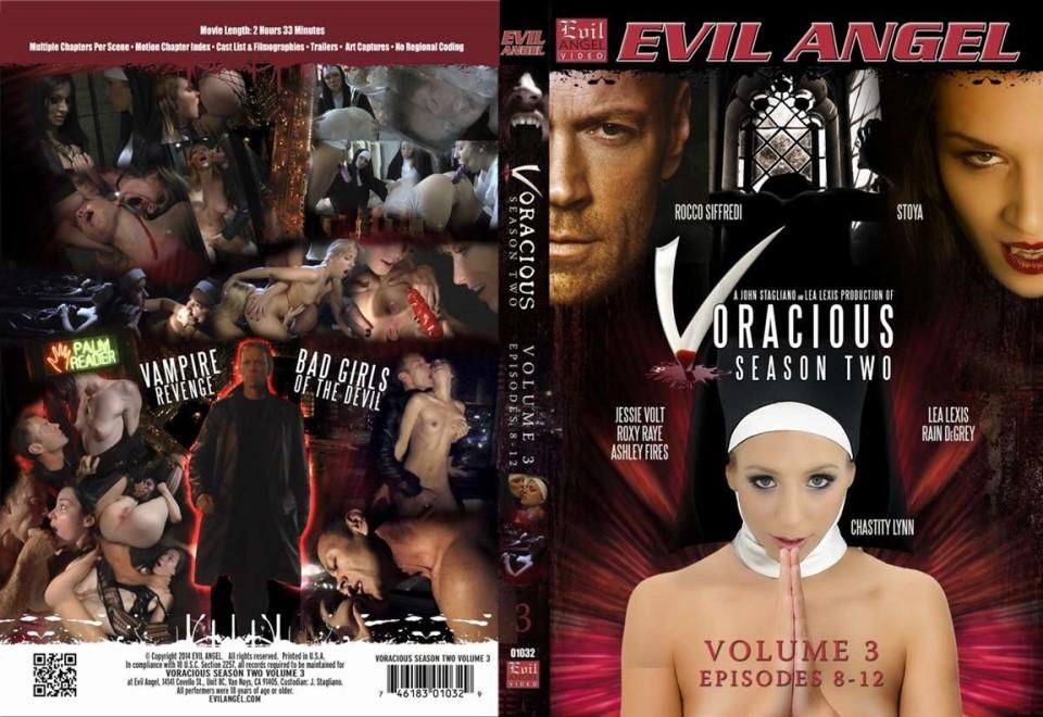 [LQ] Voracious Season Two Volume 3 Episodes 8 Chastity Lynn, Rocco Siffredi, Lea Lexis, Ashley Fires, Jessie Volt, Stoya, Rain Degrey, Roxy Ray - Evil Angel-02:33:27 | Horror, Feature, Anal, Vampire - 1,3 GB