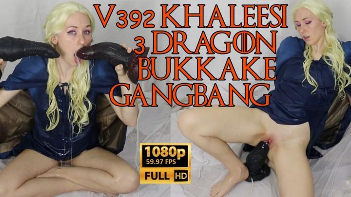Brooke Dillinger V392 Khaleesi 3 Dragon Bukkake Gangbang